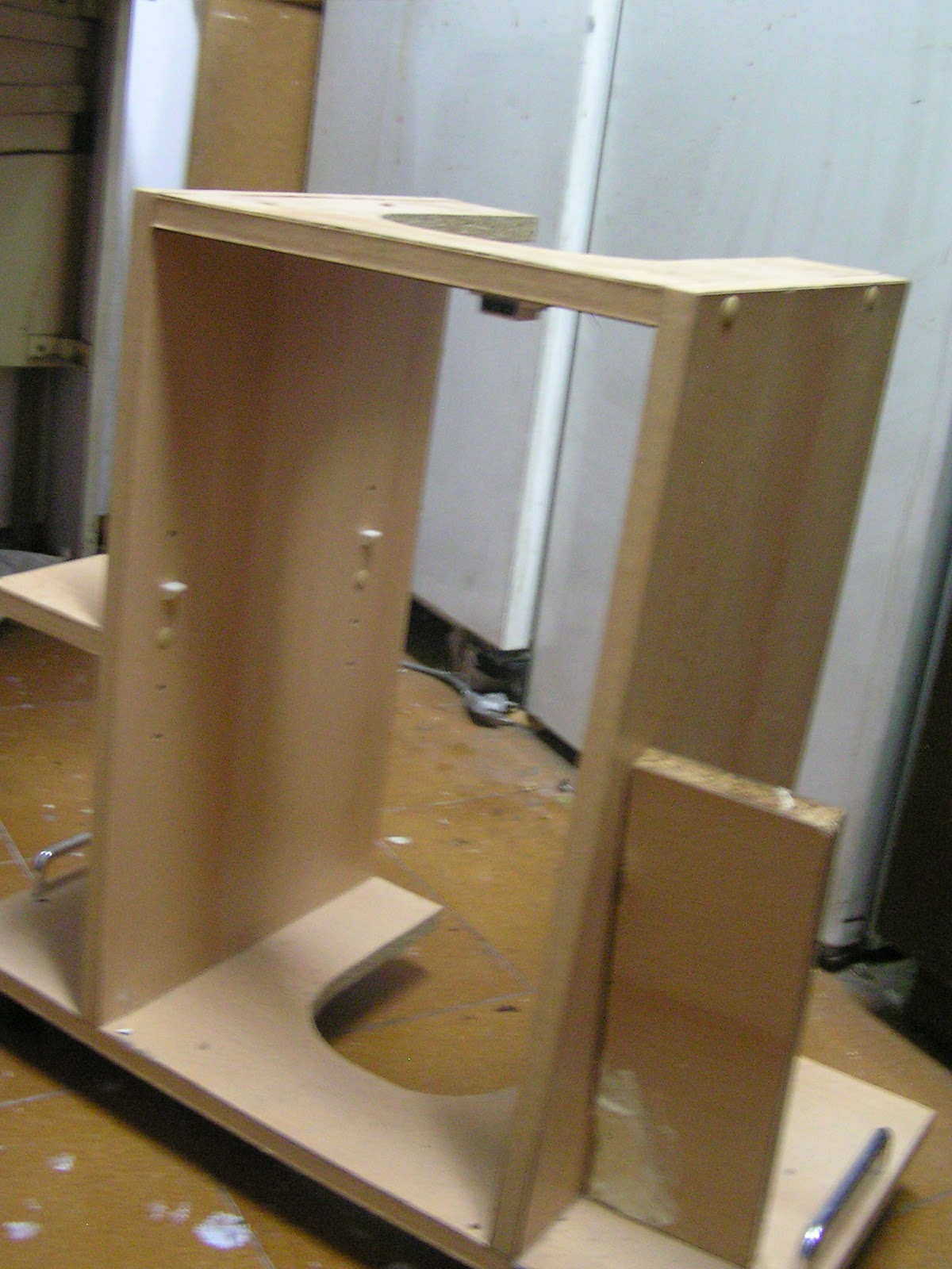 Mueble de ba o restaurado y tuneado bricolaje - Como hacer un mueble de bano ...