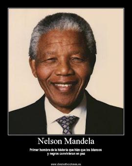 Madiba, Nelson Mandela. Ejemplo de Lucha contra el Racismo.