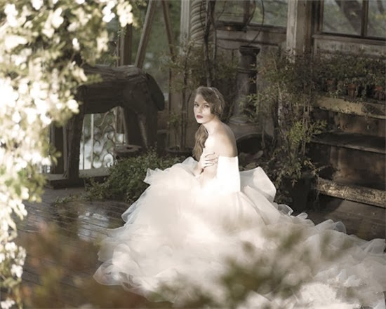 In The Back Garden Wedding Dress Elf