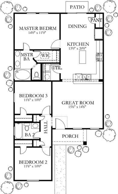 Planos de casas modelos y dise os de casas planos de casa - Planta baja en ingles ...