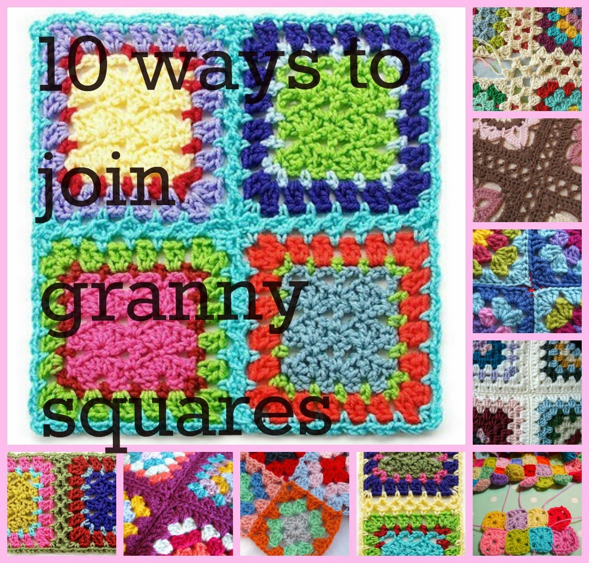Crocheting Granny Squares Together Video : Granny Square CAL (Week 33)