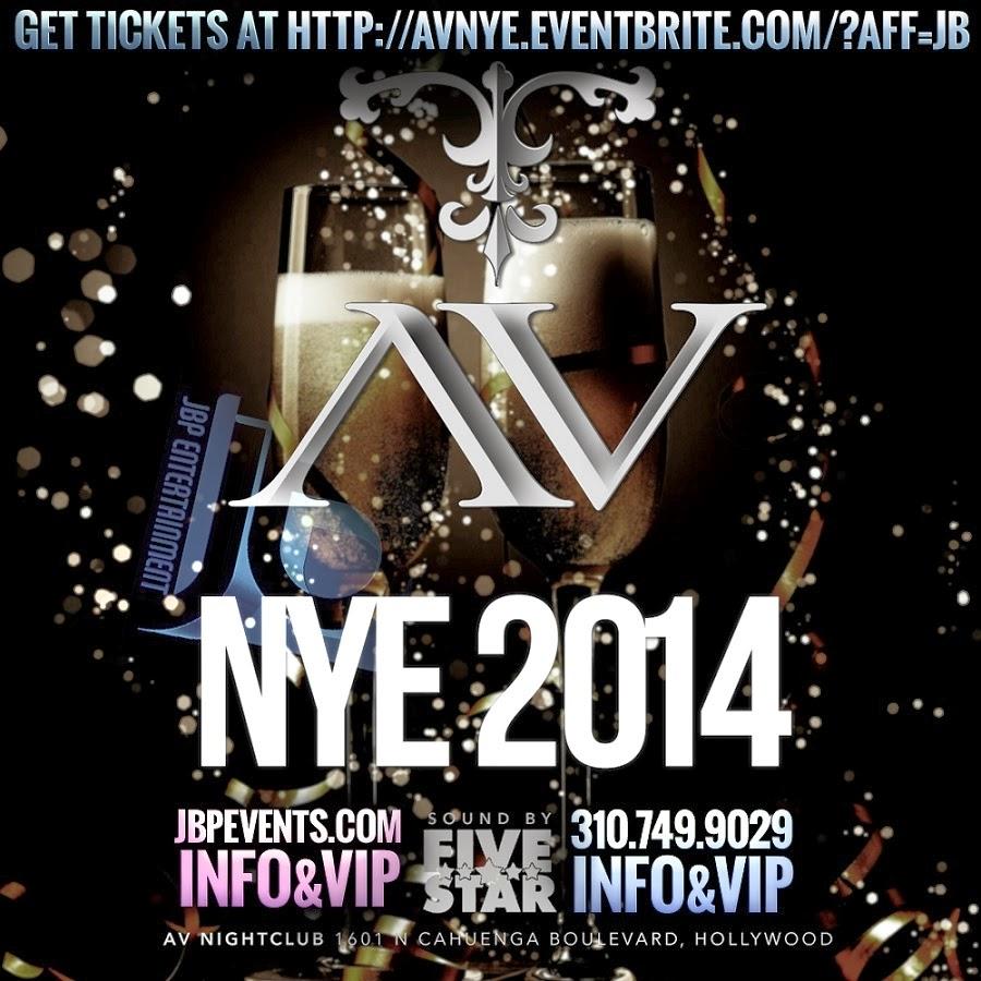 avnightclub new years eve 2014 hollywood la nightlife