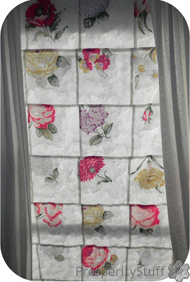 ProsperityStuff Window Quilt with curtains