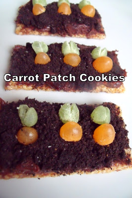 Carrot Patch Cookies Recipe
