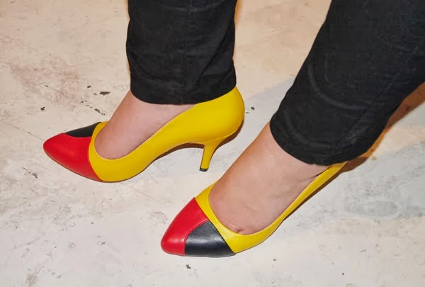 Catherine Lux wears Yull Cornbury Shoes to Tribal Media Party