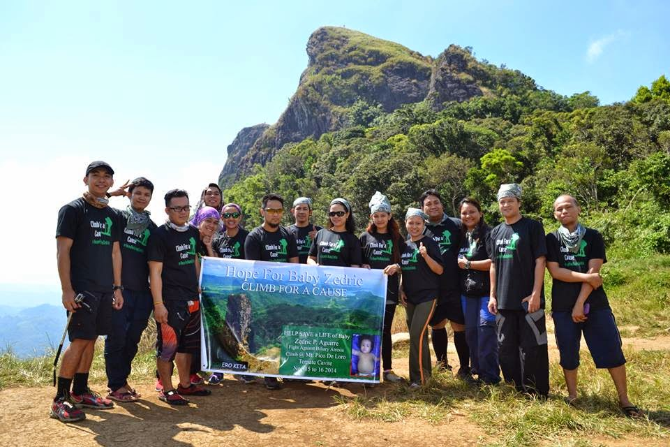 A Successful Climb for a Cause for Baby Zedric