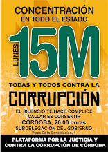 15M.Concentración contra la Corrupción