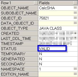 Use Java Class to Calculate SHA from Oracle SQL / PL SQL - Example