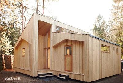 Casa danesa de construcción rápida