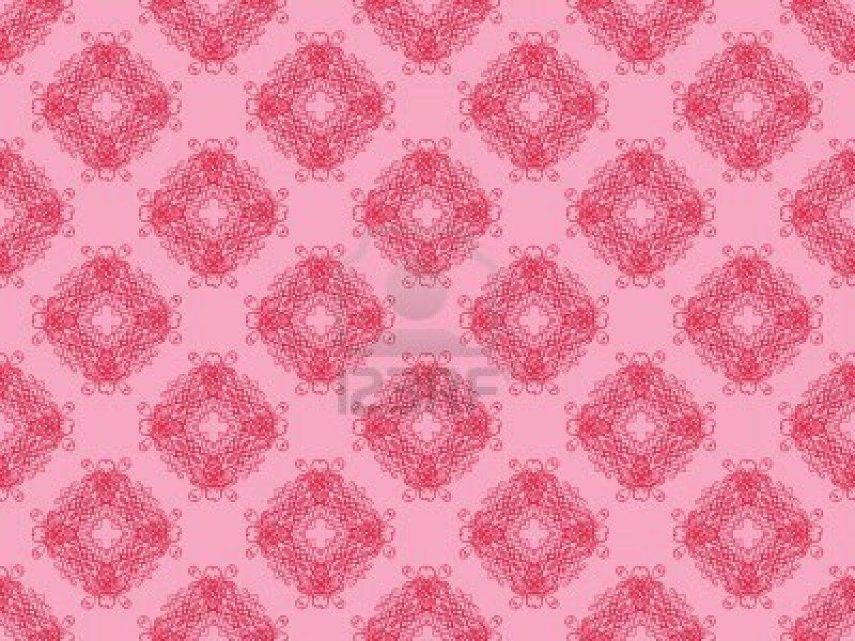 Banilung Pink Wallpaper Pattern
