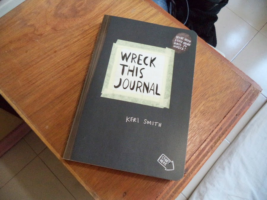 Wreck This Journal - Keri Smith