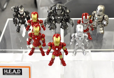 Art Spirits Iron Man H.E.A.D. Super-Deformed Figures