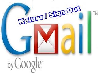 Cara Keluar Dari Gmail Lewat Komputer