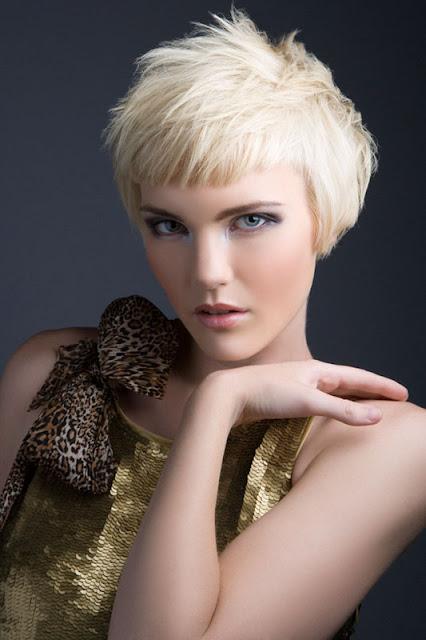 short purple hairstyles : Short Hair Styles 2012: Short Neck Hairstyles