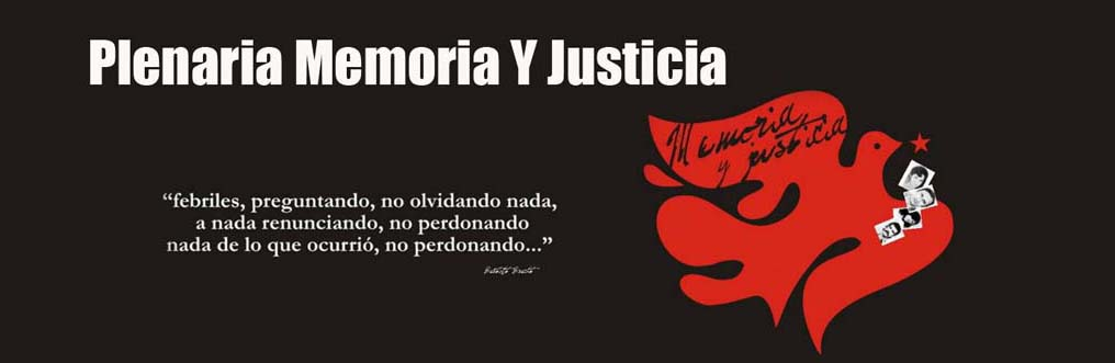 Plenaria Memoria Y Justicia