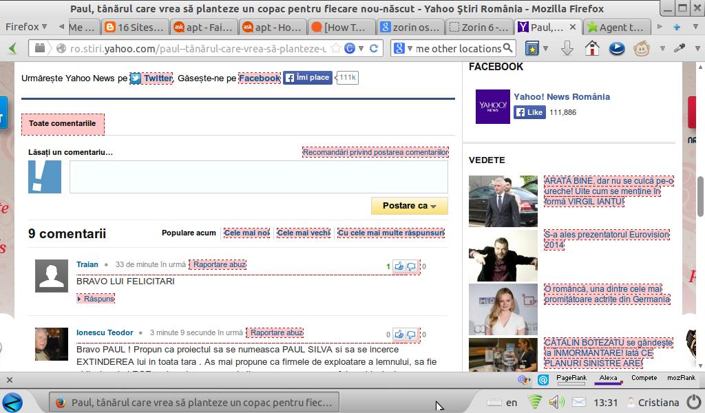 ColorZilla bug on Yahoo page