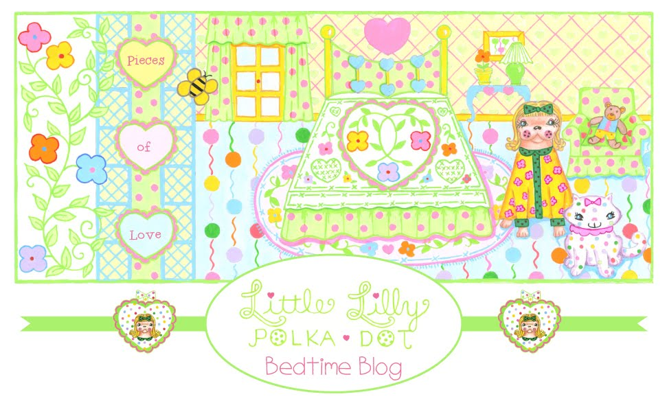Little Lilly Polka Dot Bedtime Blog