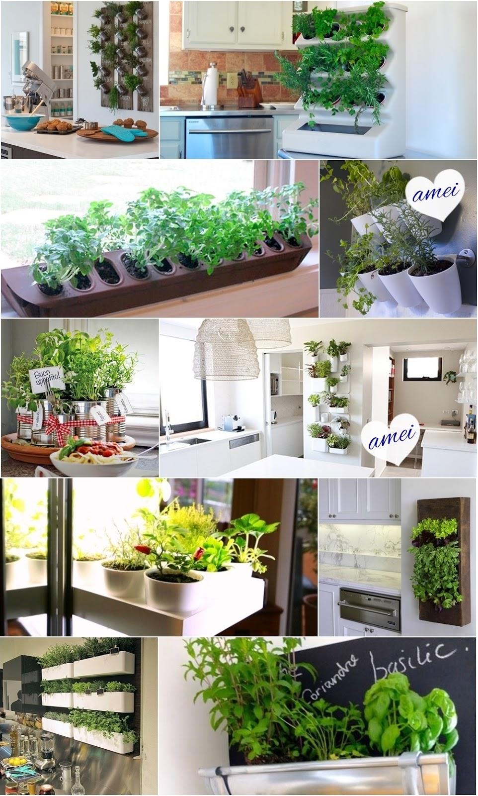 Objecto De Desejo Mini Horta Vertical Na Cozinha A Garota De  ~ Horta De Temperos Na Cozinha