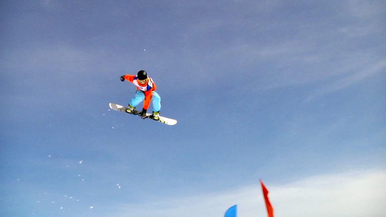 Op dag 2 van het Snowfest 2014 stond de snowboard Big Air op het programma.
