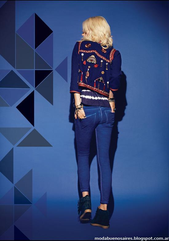 Moda Jeans invierno 2014 Rapsodia.