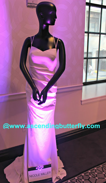 Wedding Salon Bridal Tradeshow/Expo, New York City, Nicole Miller Wedding Dress