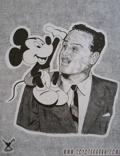 "A portrait rendered in graphite on 10"" X 13"" Bristol Board"