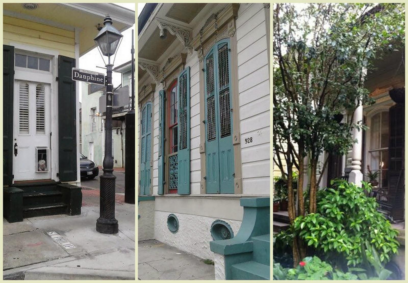 """""""Casas French Quarter en Nueva Orleans"""""""