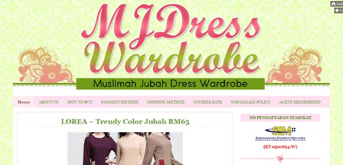 Tempahan Design Blog MJDress Wardrobe