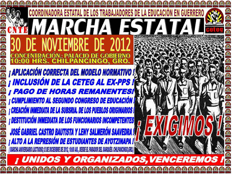 MARCHA 20 DE NOV