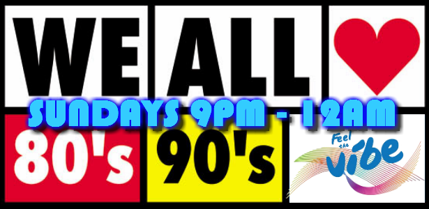 We LOVE the 80s and 90s by V-Hive Radio