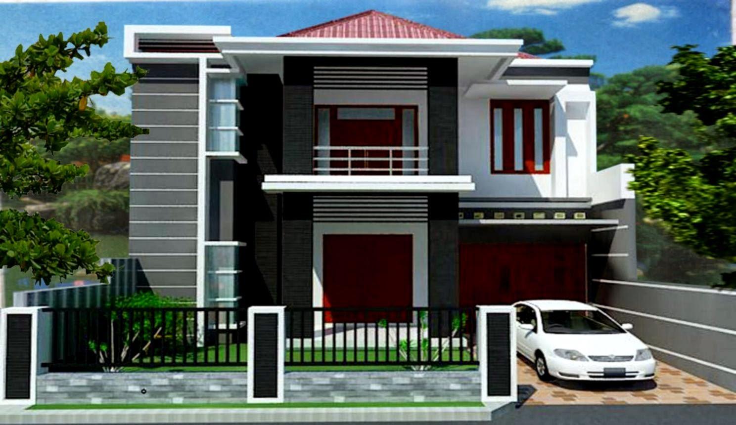 Desain Rumah Tingkat Minimalis Design Rumah Minimalis