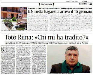 "15 gennaio 1993, Totò Riina: ""Chi mi ha tradito?"""