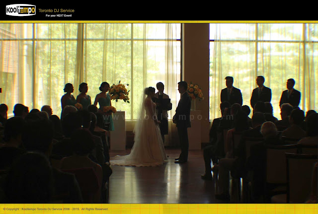 Rosewarter Room Toronto, Wedding Ceremony, Wedding Ceremony Dj toronto