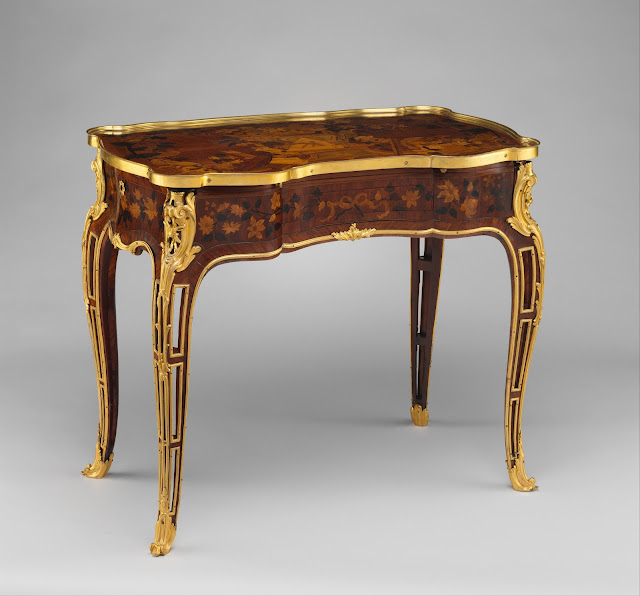 Mechanical Table, ca. 1761–63, Jean-François Oeben and Roger Vandercruse called Lacroix