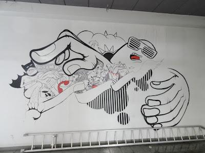 graffiti squat