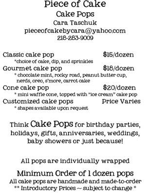 Piece Of Cake Ice Cream Cone Meet Cake Pop