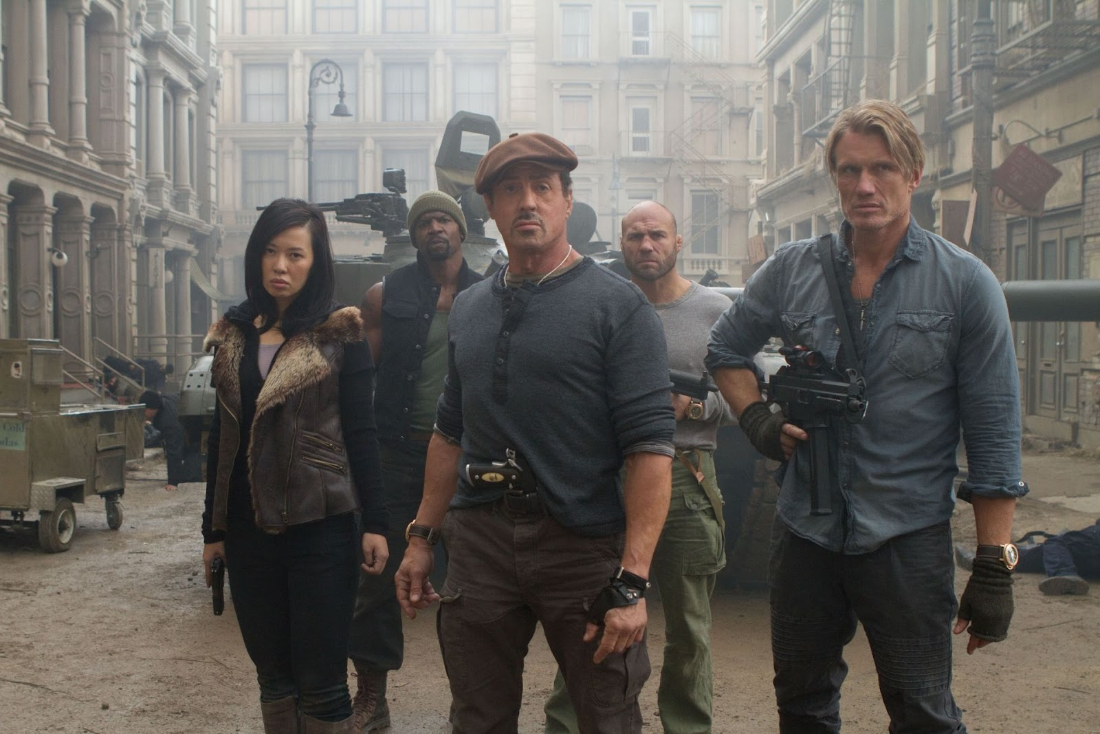 Sylvester Stallone Expendables 2