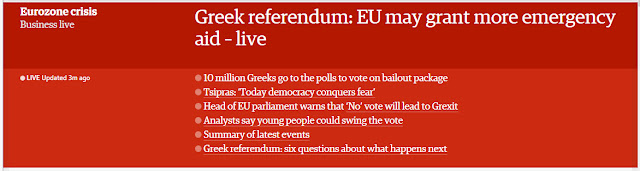 http://www.theguardian.com/business/live/2015/jul/05/greeces-eurozone-future-in-the-balance-as-referendum-gets-under-way--eu-euro-bailout-live