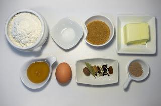 Galletas navideñas con especias - pierniki - ingredientes