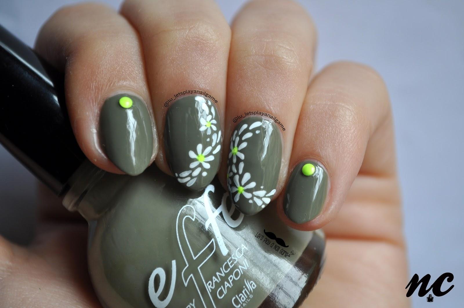 1 comment effe, effe smalti, Giulia, militare, nail art, nail design,  nails, nero