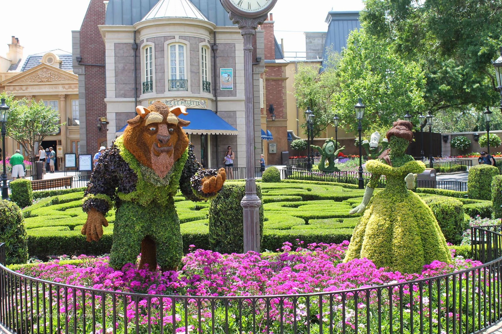 Epcot International Flower Garden Festival Returns For 2015 March 4 May 17 Disney World