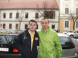 Cu fostul elev Leon Bordea, student la Facultatea de Studii Europene UBB-Cluj Napoca, 8.05.2015