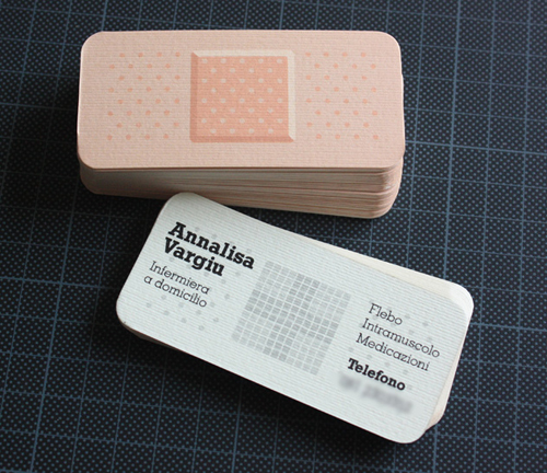 Band-aid Business Card