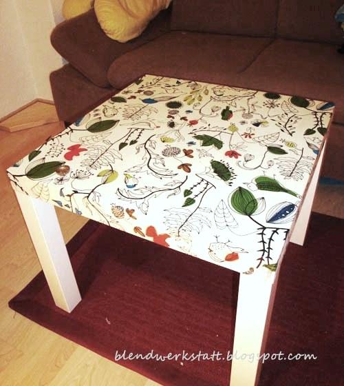 blendwerk the lacky birds tisch. Black Bedroom Furniture Sets. Home Design Ideas
