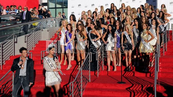Miss USA 2011 Arrival Ceremony at Planet Hollywood Resorts & Casino