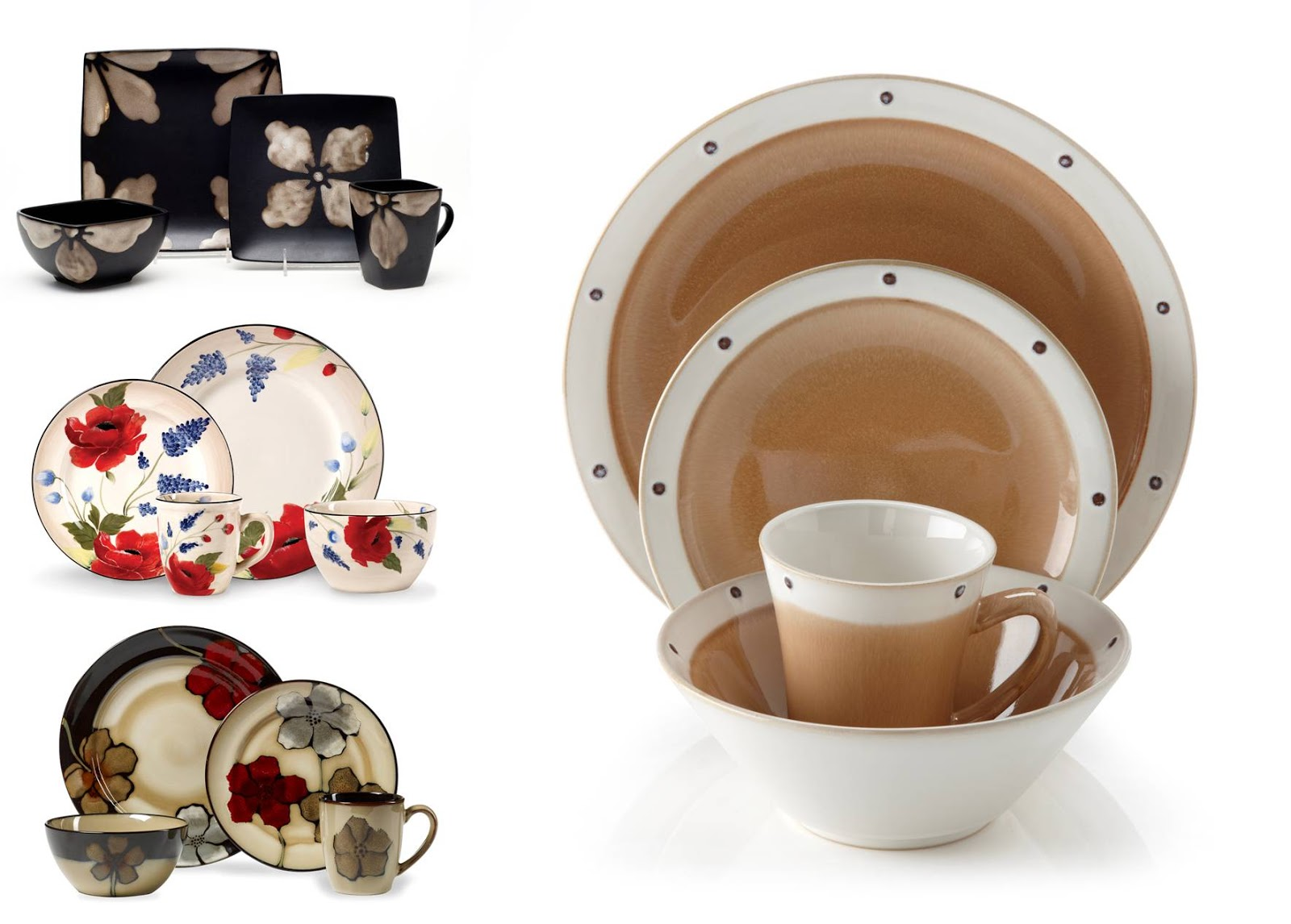 BonTon Style | virtual runway: Setting the Table: Painted Dinnerware