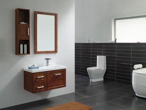 Muebles modernos para el ba o con espejos dise os de ba os for Espejos cuarto de bano modernos