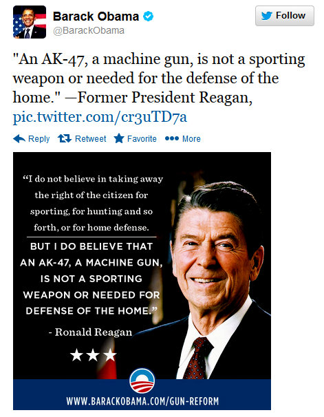 Quotes On Gun Control Interesting Obama Quotes Reagan On Gun Control  Joe.my.god.