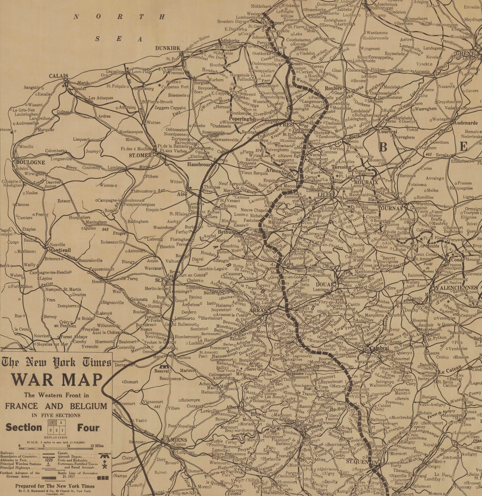 Gis research and map collection 2014 historic world war i maps available online from ball state university libraries gumiabroncs Gallery