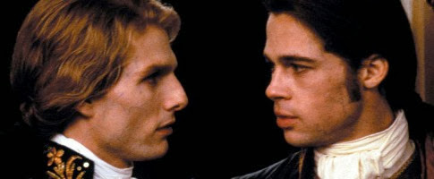 Brad Pitt en la película gay Entrevista con el vampiro
